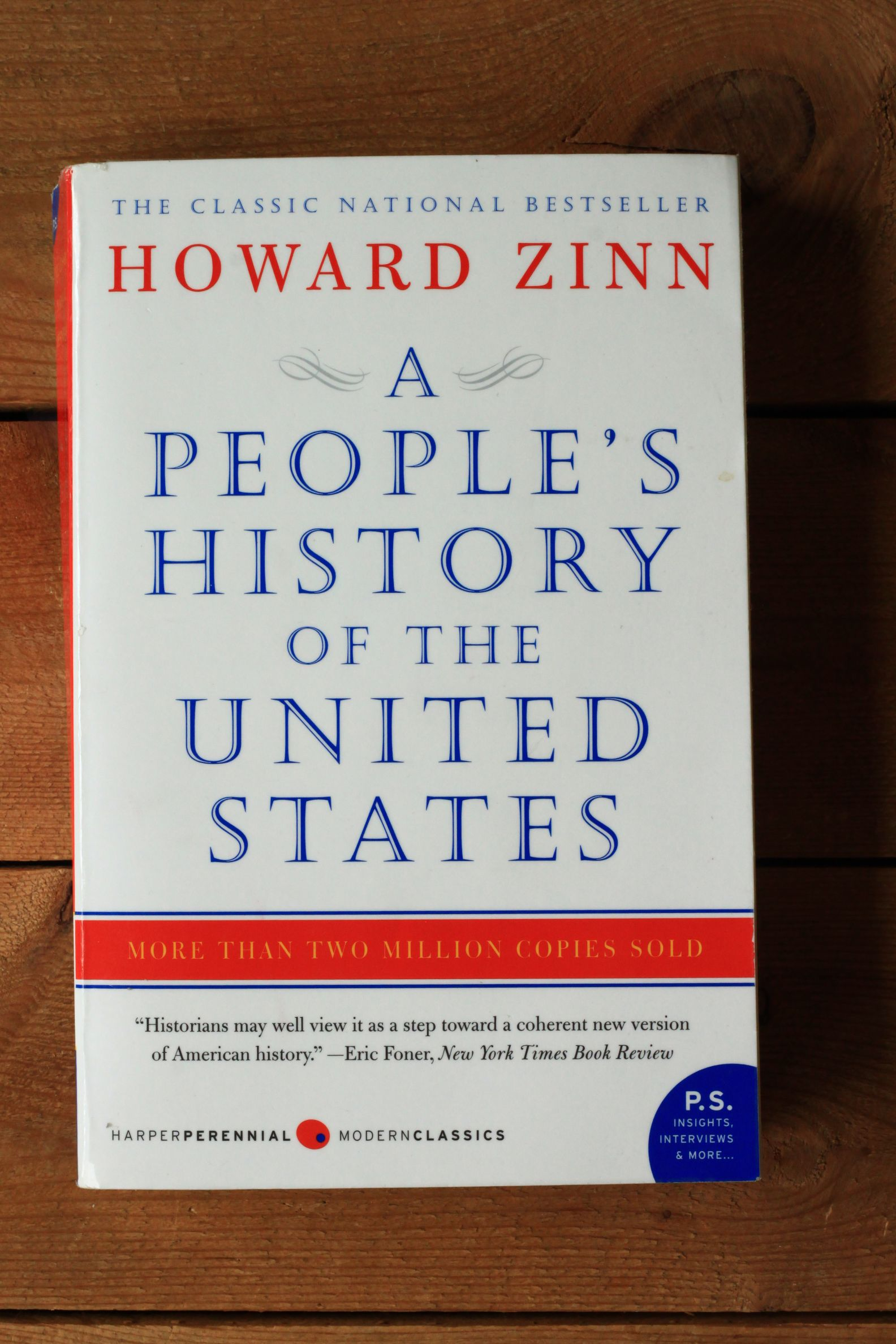 Howard zinn book analysis