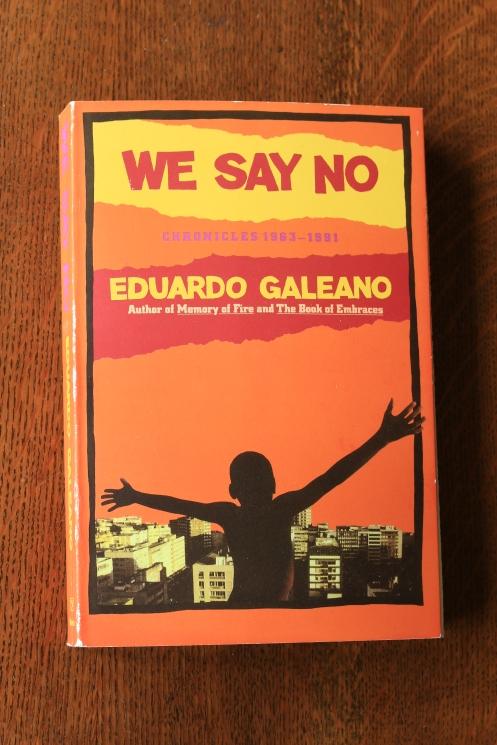 we say no'